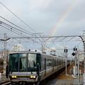 Photos: 虹と電車