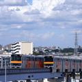 Photos: 多摩モノレール高幡不動駅から
