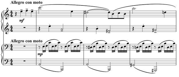 ピアノ連弾「晩秋のスケッチ」