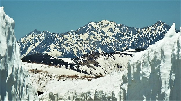 Photos: 雪洞からのながめ