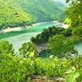 大町ダム(龍神湖)