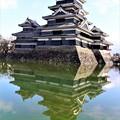 Photos: 水面の城