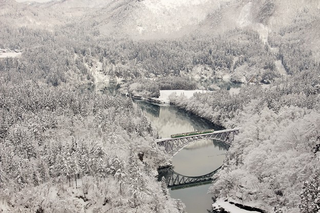 只見線 第一只見川橋