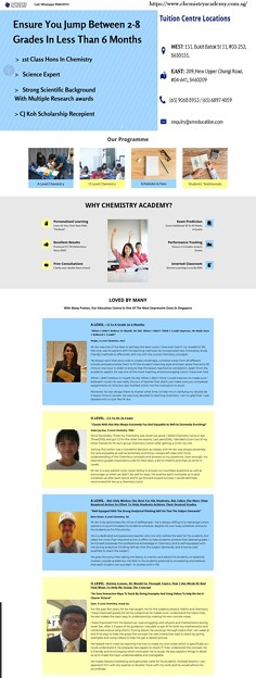 Best Chemistry Tuition in Singapore