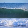 今朝の湘南・鵠沼海岸の波は腹から胸サイズ #湘南 #藤沢 #海 #波 #surfing #wave #mysky