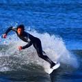セット腹、オフショアの湘南・鵠沼海岸 #湘南 #藤沢 #海 #波 #wave #surfing #mysky