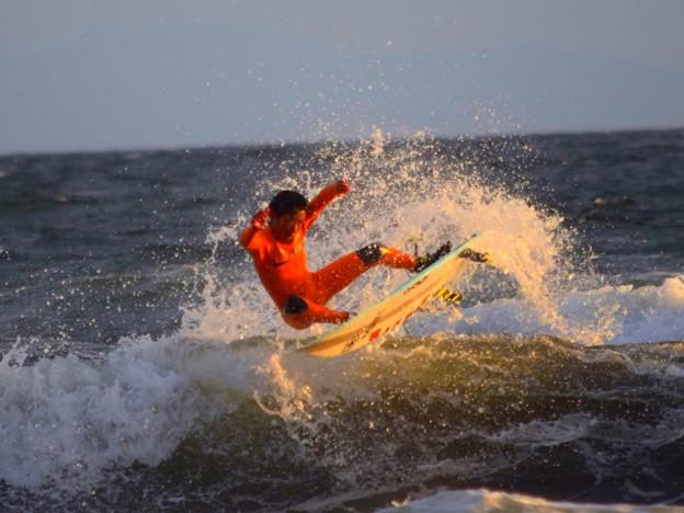 夕方もたくさんのサーファーがいた湘南・鵠沼海岸 #湘南 #藤沢 #海 #波 #wave #surfing #mysky