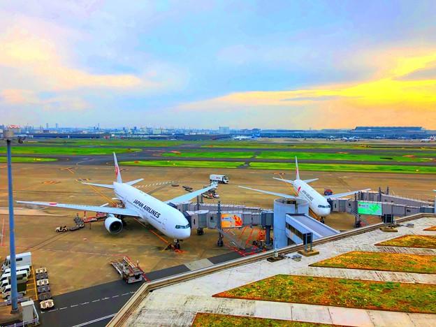 雲が拡がる羽田空港 #東京 #東京国際空港 #羽田空港 #airport #hnd #tokyointernationalairport