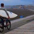 湘南・鵠沼海岸朝景 #湘南 #藤沢 #海 #波 #wave #surfing #beach #mysky #surf