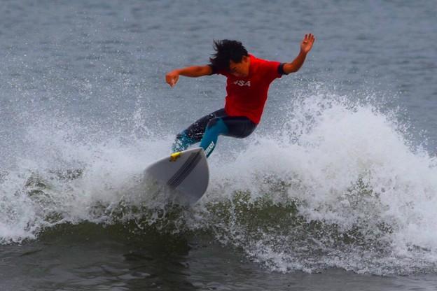 WEST BEACH CUP開催の湘南・鵠沼海岸(規制あり) #湘南 #藤沢 #海 #波 #wave #surfing #mysky #beach #shonan