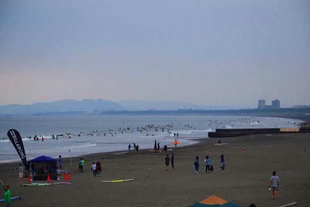 曇り空の湘南・鵠沼海岸 #湘南 #藤沢 #海 #波 #wave #surfing #mysky #beach #shonan