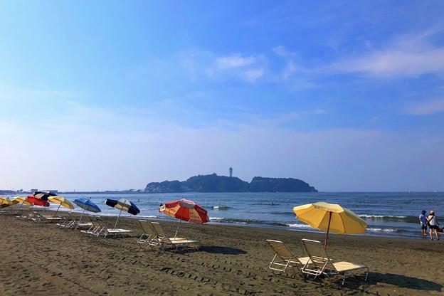 写真: 今朝の江ノ島 #湘南 #藤沢 #海 #波 #wave #surfing #mysky #beach