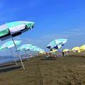 Photos: 朝から暑い今朝の湘南・鵠沼海岸 #湘南 #藤沢 #海 #波 #wave #surfing #mysky #beach