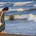 写真: 夕方の湘南・鵠沼海岸 #湘南 #藤沢 #海 #波 #wave #surfing #mysky #beach