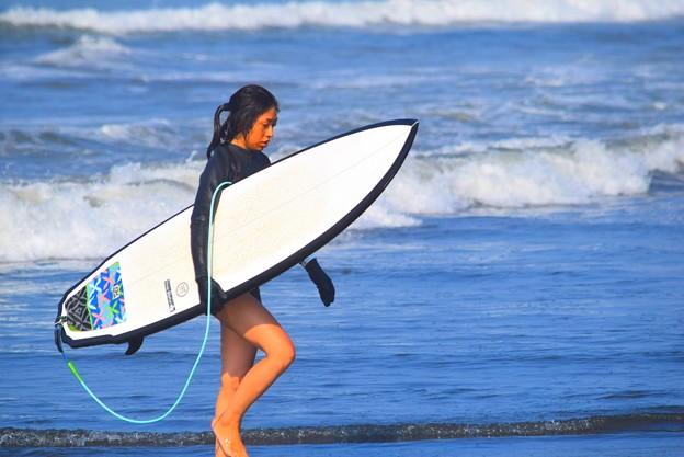 湘南・鵠沼海岸のサーファー #湘南 #藤沢 #海 #波 #wave #surfing #mysky #beach