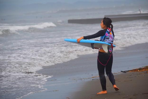 湘南・鵠沼海岸のサーファー #湘南 #藤沢 #海 #波 #wave #surfing #wave #mysky #beach