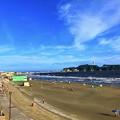 夕方の江ノ島 #湘南 #藤沢 #海 #波 #wave #surfing #mysky #beach