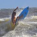 やや強いオンショアの湘南・鵠沼海岸 #湘南 #藤沢 #海 #波 #wave #surfing #mysky #beach