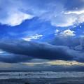 夕暮れの湘南・鵠沼海岸 #湘南 #藤沢 #海 #波 #wave #surfing #mysky #beach #shonan