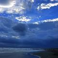 暗雲迫る湘南・鵠沼海岸 #湘南 #藤沢 #海 #波 #wave #surfing #mysky #beach #shonan