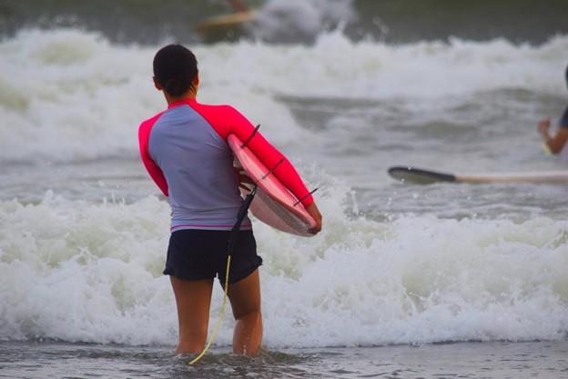 湘南・鵠沼海岸のサーファー #湘南 #藤沢 #海 #波 #wave #surfing #mysky #beach #shonan