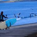 湘南・鵠沼海岸朝景 #湘南 #藤沢 #海 #波 #wave #surfing #mysky #beach