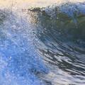 夕方の湘南・鵠沼海岸の波はももから腰サイズ #湘南 #藤沢 #海 #波 #サーフィン #surfing #wave #mysky #shonan #beach