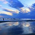 夕闇迫る湘南・鵠沼海岸 #湘南 #藤沢 #海 #波 #wave #surfing #mysky #beach