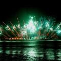 写真: 西プロモナードからの花火 #湘南 #藤沢 #海 #波 #wave  #mysky #beach #花火 #enoshima #江ノ島花火大会