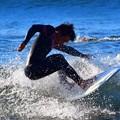 写真: オフショアの湘南・鵠沼海岸 #湘南 #藤沢 #海 #波 #wave #surfing #mysky
