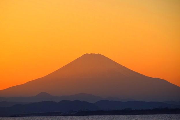 写真: 湘南・鵠沼海岸からの富士山  #湘南 #藤沢 #海 #波 #wave #surfing #mysky #fujisan #mtfuji #富士山