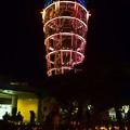 Photos: 江ノ島シーキャンドルとキャンドルの灯り  #湘南 #藤沢 #海 #波 #wave #江ノ島 #mysky #enoshima #夜景 #nightview