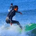 弱いオフショアの湘南・鵠沼海岸 #湘南 #藤沢 #海 #波 #wave #surfing #mysky