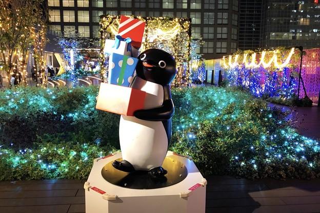 Suicaペンギンとイルミネーション #新宿 #東京 #クリスマス #イルミネーション #shinjuku #christmas #illumination