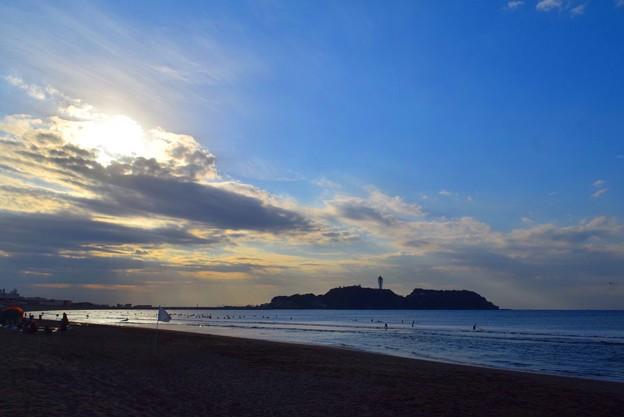 今朝の江ノ島 #湘南 #藤沢 #海 #波 #wave #surfing #beach #mysky