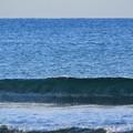 今朝の湘南・鵠沼海岸の波はすねからひざサイズ #湘南 #藤沢 #海 #波 #wave #surfing #beach #mysky