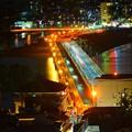 Photos: 江ノ島大橋 #湘南 #藤沢 #海 #夜景 #wave #nightview