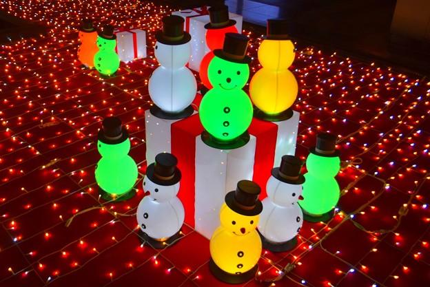 大阪駅時の広場のスノーマン #大阪 #クリスマス #イルミネーション #osaka #illumination #christmas #xmas