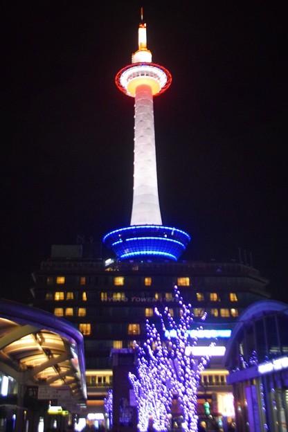 京都タワー #京都 #クリスマス #イルミネーション #kyoto #illumination #christmas #xmas #kyototower #京都タワー