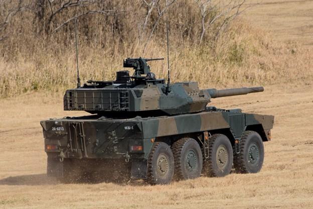 16式起動戦闘車 #自衛隊 #japanselfdefenceforces #mysky #習志野演習場 #降下訓練始め #japanesearmy