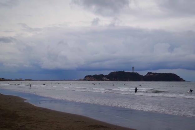 夕方の江ノ島 #湘南 #藤沢 #海 #波 #wave #surfing #beach #mysky #sky #sea