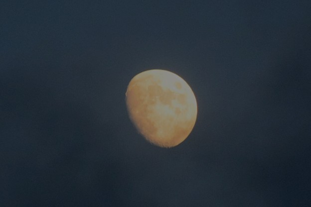 月齢10の夕月@湘南・鵠沼海岸 #湘南 #藤沢 #海 #波 #wave #surfing #mysky #sky #moon #月