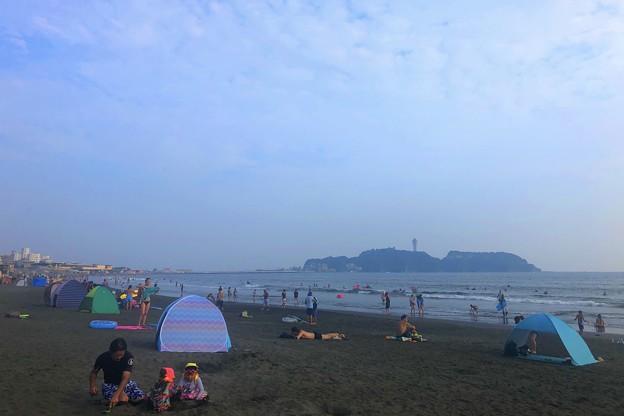 夕方の江ノ島 #湘南 #藤沢 #海 #波 #wave #surfing #サーフィン #mysky #sea #beach
