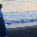 黄昏の湘南・鵠沼海岸 #湘南 #藤沢 #海 #波 #wave #surfing #サーフィン #beach #sea #mysky