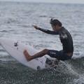 夕方の湘南・鵠沼海岸の波は腰から腹サイズ #湘南 #藤沢 #海 #波 #wave #surfing #mysky #サーフィン #sea #beach