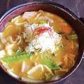 Photos: 赤富士の豚バラ肉ほうとう #ほうとう #yummy #lunch #ランチ