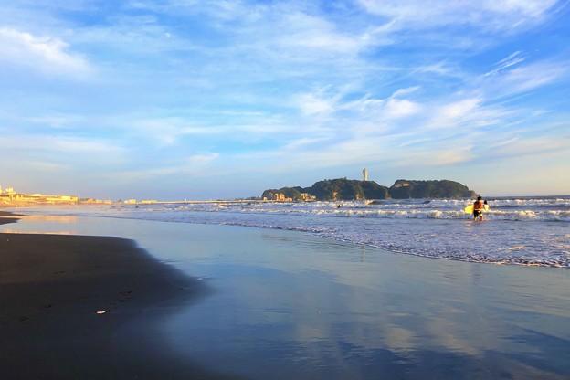台風15号が過ぎ去った夕方の江ノ島 #湘南 #藤沢 #海 #波 #wave #surfing #sea