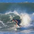 今朝の湘南・鵠沼海岸の波は胸から肩。風はオフショア  #湘南 #藤沢 #海 #波 #wave #surfing #wave #sea