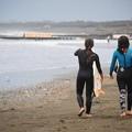 湘南・鵠沼海岸夕景 #湘南 #藤沢 #海 #波 #wave #surfing #sea #beach #mysky