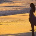 湘南・鵠沼海岸夕景 #湘南 #藤沢 #海 #波 #wave #surfing #sea #mysky #beach